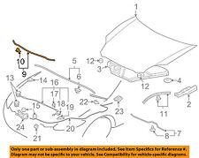 MITSUBISHI OEM 06-12 Eclipse Hood-Lower Weatherstrip Seal 5902A119