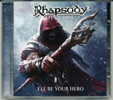 "Rhapsody Of Fire ""I'll Be Your Hero"" 2021, CD jewel case"