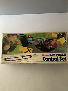 VTG '72 Mattel Sizzler Fat Track Super Control Set W/ 6 Cars& Manual