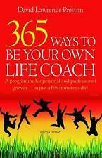 365 Ways To Be Own Life Coach, 2nd Edition, Lawrence Preston, David, New conditi