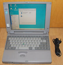 "11,3"" Laptop Notebook Toshiba Satellite 210CT 120Mhz 32MB 1,3GB RS232  Win 98 SE"