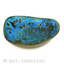 Spektkuläre 60er 70er Keramik Schale Krater Lava Dekor German Pottery Bowl 60s