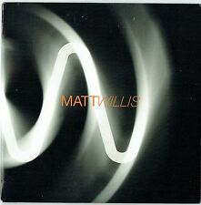 """MATT WILLIS - 5"""" CD - Don't Let It Go To Waste (Promo Single) Mercury. Busted"""