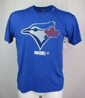Toronto Blue Jays Blue Men's T-Shirt Genuine Merchandise of the MLB Size S - XL