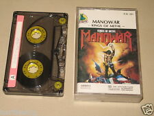 MANOWAR - Kings Of Metal - MC Cassette un/official polsh tape 1988/1009
