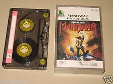 MANOWAR - Kings Of Metal - MC Cassette un/official polsh tape 1988/1009