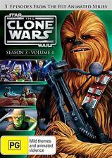 Star Wars: The Clone Wars - Season 3 - Volume 4 * NEW DVD * Animated