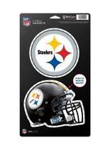 Pittsburgh Steelers großes Magnet 2 er Set,NFL Football,Team Logo und Helm,Neu