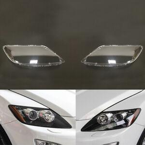 For Mazda CX-7 Car Headlamp Lens Clear Auto Shell Headlight Cover