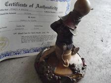 "Tom Clark Figurine Cairn Edison Gnome Ed 36 with Box and Coa 6 1/2"" Tall"