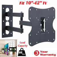 "Full Motion Tilt Swivel TV Wall Mount Bracket 14 23 24 26 27 32 37 40 42""LED LCD"