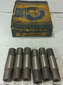6 New 1938-41 Hudson 6 & 8 Cylinder Exhaust Valve Guides Permite G7477