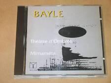 CD RARE / FRANCOIS BAYLE / THEATRE D'OMBRES / MIMAMETA / TRES BON ETAT