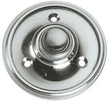 Circular cromo pulido estilo victoriano puerta campana Push/Switch (BC39)