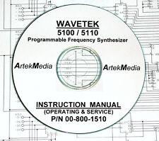 Wavetek 5100 / 5110 Instruction (OPS & Service) Manual