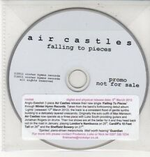 (DD378) Air Castles, Falling to Pieces - 2012 DJ CD