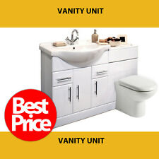 1350mm Vanity Unit with 500 Back to Wall Unit + TAP