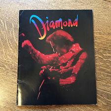 Neil Diamond Tour Book 82 On the Way to the Sky Tour w/ Vellum Page Heartlight