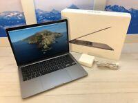 "Apple MacBook Pro Touch Bar 2020 13"" Laptop 256GB 8GB RAM Space Gray w/Box"