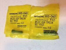 4 Qty - Genuine Hitachi 993-040 993040 Nylock High Tension Bolt for DH38YE H41