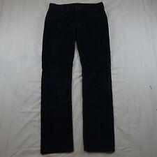 Levi's 31 x 34 Navy Blue Corduroy 511 Skinny Stretch Cords Pants