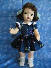 "Vintage 16"" Terri Lee in Tagged Steno Dress-All Original-Beautiful 70yr old doll"