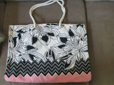 Women's Floral Pattern Cloth Tote Bag