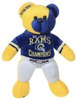 NEW St. Louis Rams Super Bowl 34 XXXIV Champions Thematic Bear LA Los Angeles