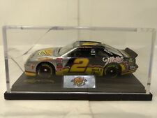 Rusty Wallace #2 Miller Ford Thunderbird Display Case 1:64 Scale Diecast mb464