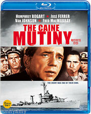 The Caine Mutiny - Humphrey Bogart Van Johnson [Blu Ray] (NEW) Classic War Story