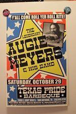 AUGIE MEYERS San Anton TEXAS (2005) Concert Poster doug sahm Texas Tornados
