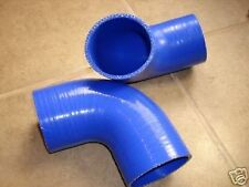 "Universal 4"" (102MM) 90 Degree Silicone Hose 3Ply Intercooler Intake Pipe"