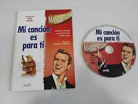 MANOLO ESCOBAR - MI CANCION ES PARA TI DVD SLIM CARTON