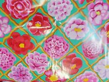 Kaffe Fassett CAMELLIA PINK   Laminated Cotton By The yard 56 inches wide