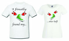 Couple matching funny t-shirts love statement gift, Valentine's day, anniversary