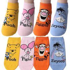 Pack of 4 pairs Disney Winnie the Pooh and Friends Piglet Tigger Eeyore Socks