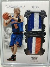 2017-18 Flawless Jason Kidd SICK patch 9/25