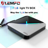 LEMFO A95XF3 Air smart TV Box Set top box Android 9.0 Support WIFI USB RGB Light