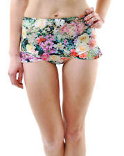 Wildfox Women&#039;s Fairy Wallet High Waist Ruffle Bikini Bottoms Multi RRP 69 �? />