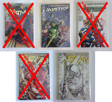 The New 52 Reboot RW Lion DC Italia vari albi Variant Cover tiratura limitata