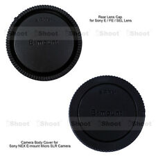 Rear Cap for E FE SEL Mount Lens Camera Body Cover fr Sony a7RII a7II a7R a7S a7
