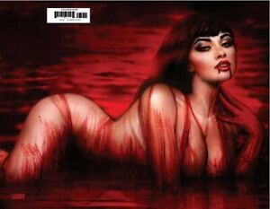 🚨🔥🦇 VAMPIRELLA #22 NATHAN SZERDY Wraparound Virgin Variant LTD 500 COA