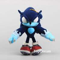 "Sonic the Hedgehog Plush Dark Sonic Soft Toy Doll Teddy Stuffed Animal 12"" BIG"