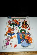 Disney Color Clings Christmas window decorations Winnie Pooh, Piglet, Tigger,