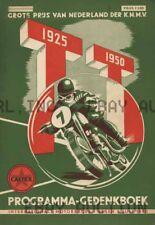 Dutch TT Assen 1950 25 Anniversary Poster Print  ca 8 x 10 print poster prent