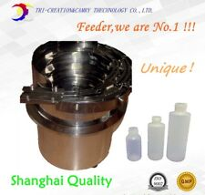 Multi-function bottle vibratory bowl feeder,SUS304 automatic cap vibrate feeder