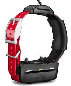 Garmin TT 15 Mini Dog Device 010-01486-00 GPS/GLONASS Receiver - Collar - Red