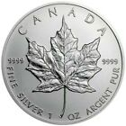 2003 1 Oz Silver $5 Canadian MAPLE LEAF Sealed Coin.