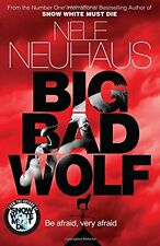 NELE NEUHAUS ___ BIG BAD WOLF ___ BRAND NEW ___ FREEPOST UK