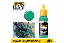 AMMO OF MIG A.MIG-0223 Acrylic Color Interior Turquoise Green 17ml